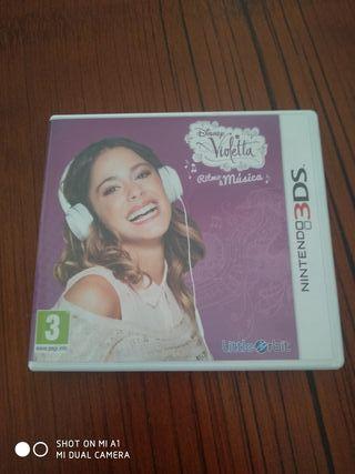 Juego Violetta Ritmo Musical para Nintendo 3DS