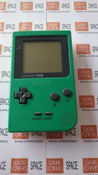 Game Boy Pocket Verde