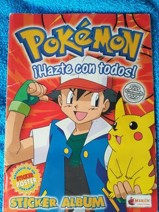 Album cromos pokemon 1ª temporada