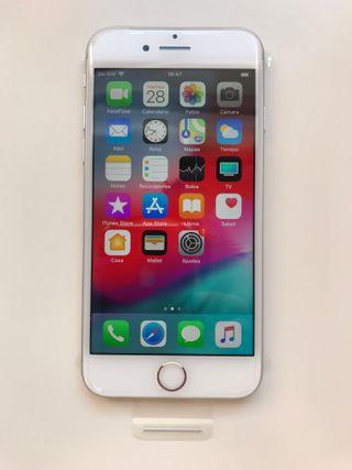 d7af2bdb8ba 2 fundas silicona de regalo.no envio. IPHONE 7 128Gb,PLATA, NUEVO. MOD.  A1660. REF.18