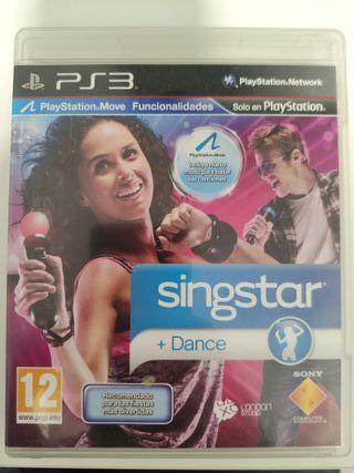 Sing Star + Dance PS3