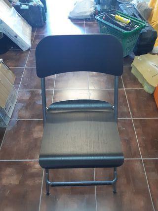 silla plegable alta Ikea