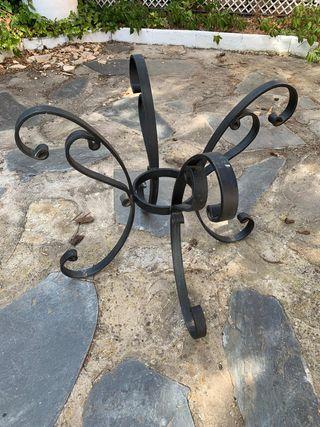 Patas de mesa de hierro forjado