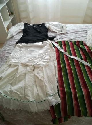 vestido huertana de Murcia