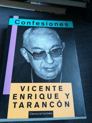 libro confesiones. Vicente Enrique y tarancon