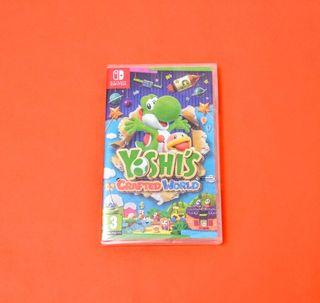 Yoshi's Crafted World PRECINTADO / Switch
