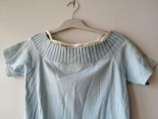Camiseta azul. TM