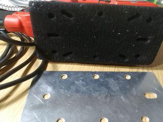 Lijadora rectangular Black and Decker