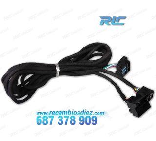 Cable de 6 metros ISO para coches BMW con conexión