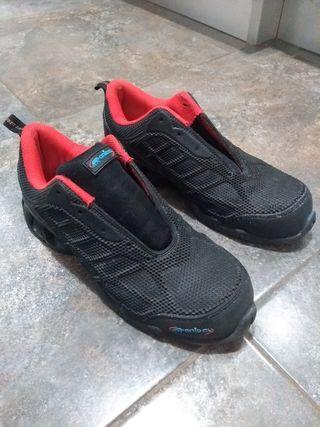 zapatos de seguridad marca Aníbal