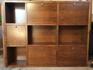 Mueble estantería (2 módulos independientes)