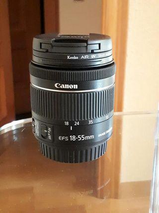 Objetivo 18-55 Canon