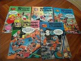 5 Comics de Mortadelo y Filemon