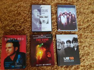5 MUSIC DVDS