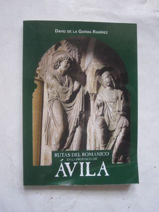 libro Rutas del Románico en la provincia de Ávila