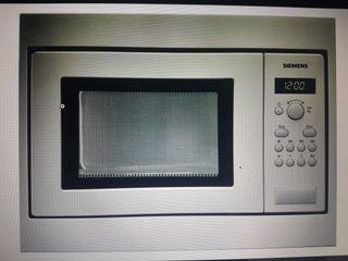 Microondas Siemens HF15M552. Integrable mueble 50