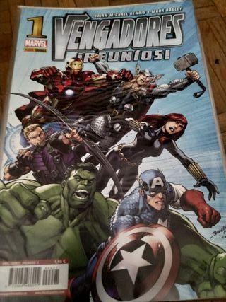 Comics Marvel Vengadores Reunios