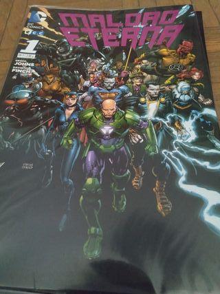Comics DC maldad eterna