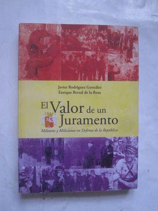 libro el valor de un juramento Javier Rodríguez