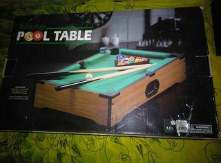 Mini mesa de billar