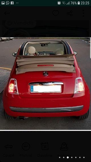 Fiat 500 C 2011 DESCAPOTABLE !!!!!