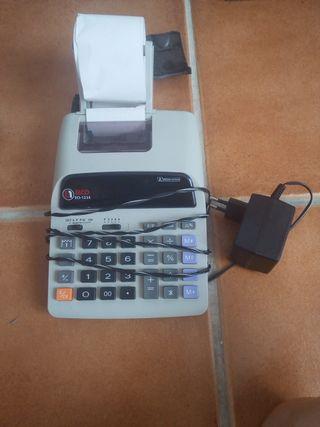 Calculadora con impresión de ticket sin uso