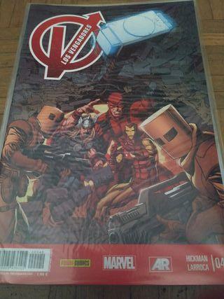 Comics los vengadores
