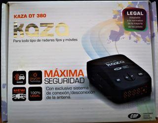 Detector/avisador rares Kaza DT380 - 100% LEGAL