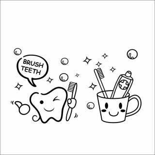 Vinilo decoracion dental