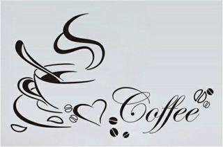 Vinilo decoracion Café