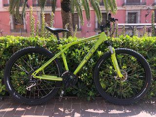 Bici GT Aggressor 1.0 MTB aluminio 26M freno disco