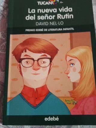 libro de lectura: La nueva vida del señor Rutin