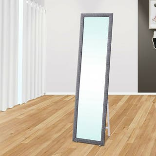 Espejo vertical de pie para habitación, recibidor