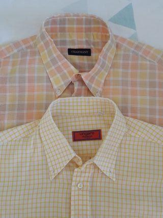 Lote camisas verano Ungaro y Charmant
