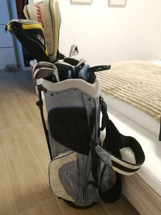 set de palos de golf nike para mujer