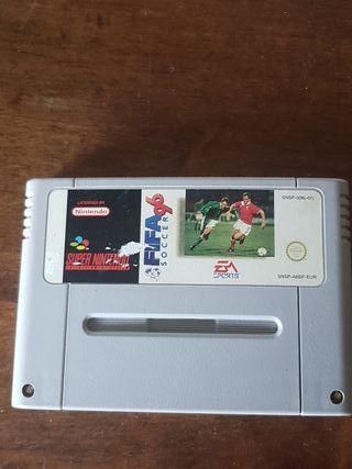 Juego SuperNintendo FIFA 96