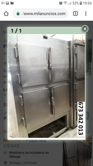 armario de frío