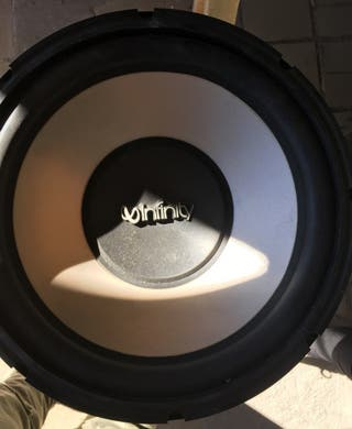 subwoofer infinity 12, 1200w 300rms