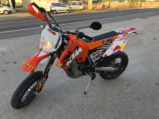 KTM EXC 525 Supermotard homologada