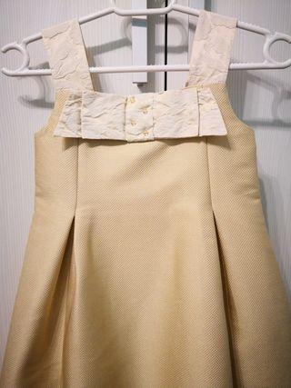 Nanos T. 8 Vestido dorado