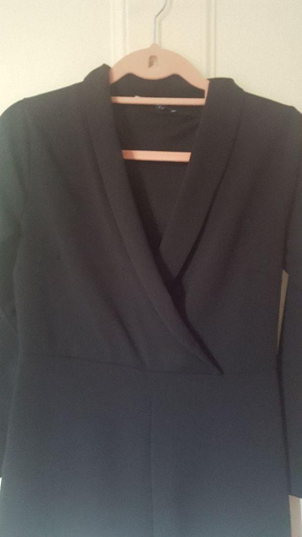 Black short jumsuit