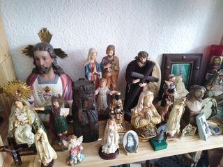 Imágenes y objetos religiosos