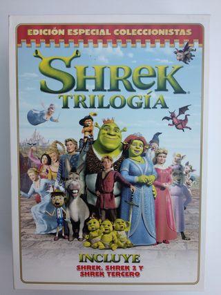 Pack DVD Todas las Películas de Shrek ideal niños