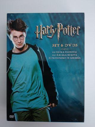 Pack DVD Películas de Harry Potter