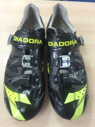 Zapatos ciclismo Carbono Diadora 45