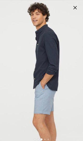 H&M bermudas rayas nuevas hombre bolsillo