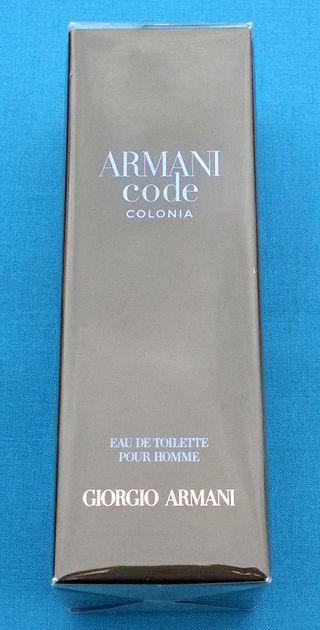 NUEVO Giorgio ARMANI CODE Eau de Toilette 75 ml