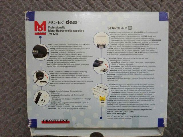 Rasuradora Moser class 45