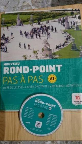 ROND - POINT PAS À PAS LIBRO