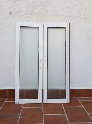 HOJAS OPACAS VENTANA DE ALUMINIO 35 × 1'06